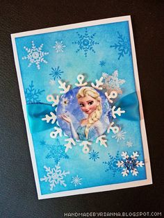 How to make these elsa frozen diy party invitations with free hand made by rianna frozen party the invitations diy solutioingenieria Image collections