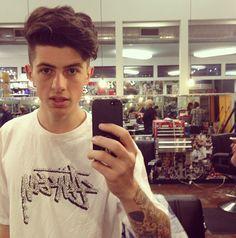 Sam Peppers New Haircut