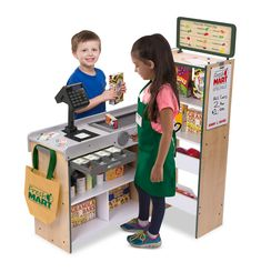 Pretend Play Toys For Girls Food Kitchen Toddlers Supermarket Store Playset Kids Kids Grocery Store, Pretend Kitchen, Diy Kids Furniture, Ideal Toys, Play Centre, Melissa & Doug, Wishes For Baby, Kits For Kids, Lol Dolls