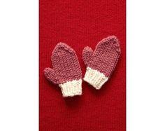Valentines Day Mittens Pattern