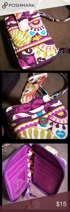 🏵️ Vera Bradley floral wallet/clutch 🏵️ Beautiful floral wallet by Vera Bradley. Purples, pink, green and blue. One of my favorites, I just have too many wallets and not enough to out in them! 🤣😁😉 Brand new without tags. This wallet once was lo From pet free, smoke free home BUNDLE and save! Posh recommended seller 🌟 Vera Bradley Bags Wallets