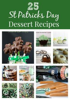 25 St Patrick's Day Dessert Recipes