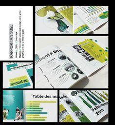 Rapport annuel pour la fondation du CSSSL Design Graphique, Personalized Items, Yearly, Dialysis