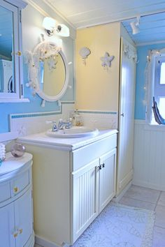 Beach Theme Bathrooms | Kids Beach Bathroom, Jack And Jill Kids Bathroom.  Ocean/beach Theme ... | Beach Theme Bathroom | Pinterest | Kids Beach  Bathroom, ...