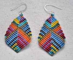 Large Buddha Earrings  multicolor by AMiRAjewelry on Etsy, $40.00