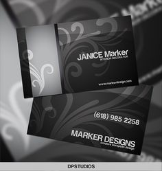 Logos business card templates and products on pinterest inspirative selection of 20 black business card templates with rewiev of black color meaning and its using in business card designing reheart Choice Image