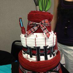 "Wedding shower gift ""cake"""
