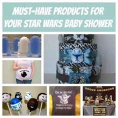 10 Must-Have Items For Your Star Wars Theme Baby Shower