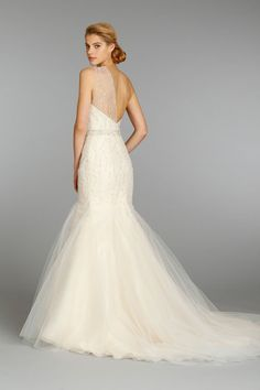 Bridal Gowns, Wedding Dresses by Jim Hjelm - Style jh8352