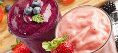 Πάρτε ιδέες για παγωμένα και λαχταριστά smoothies που θα λατρέψουν μικροί και μεγάλοι.