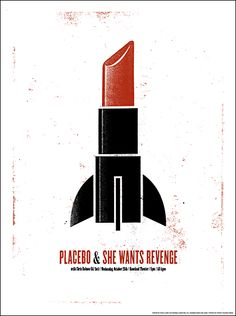 Placebo + She Wants Revenge - band poster Gig Poster, Rock Posters, Band Posters, Music Posters, She Wants Revenge, Invisible Creature, Indie, Poster Design Inspiration, Poster Ideas
