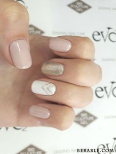 20 Best Gel Nail Designs Ideas For Trendy Nails Nails play a significant role in women life Bio gels area unit a number of the examples for nail art There area unit differing types of bio gel nails style Gel nails area unit of 2 sorts, one is diff - # Cute Nails, Pretty Nails, Bio Gel Nails, Acrylic Nails, Gold Gel Nails, Neutral Gel Nails, Soft Nails, Gold Nail Art, Hair And Nails