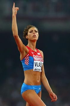 Blanka Vlasic In The High Jump Final At The Iaaf World Championships Beijing 2015 Getty Images
