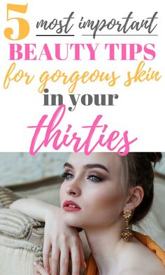5 Anti-Aging Tips For Keeping Your Skin Gorgeous - Just Life And Coffee - We could all use some awesome tips and tricks for keeping our skin looking youthful and gorgeous as we get older! These are great to work into your daily beauty routine! Beauty Tips For Skin, Skin Tips, Beauty Skin, Skin Care Tips, Beauty Hacks, Natural Beauty, Diy Beauty, Beauty Ideas, Beauty Secrets