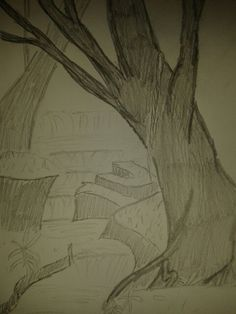 Not my best work. 30 Day Drawing Challenge, Drawing Scenery, 30th, I Am Awesome, Challenges, Drawings, Drawing Challenge, Landscape, 30 Day