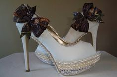 Camo Wedding shoes by Allfortheglam on Etsy, $150.00