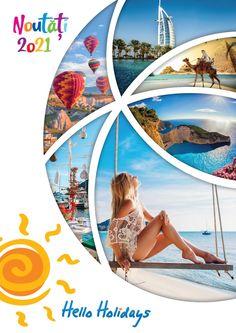 Catalog Hello Holidays Noutati Sejururi Circuite si Excursii 2021 Hello Holidays, Ferrari World, Burj Al Arab, Cappadocia, Giza, Luxor, Antalya, Abu Dhabi, Cairo