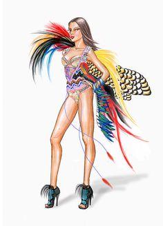 Victoria's Secret Fashion Show 2014  Exotic Traveler draw