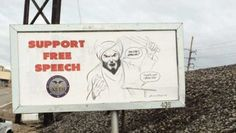 Billboards Are Popping Up That Are Enraging Muslims - what a damn shame ..j