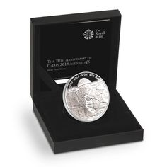70th Anniversary of D-Day 2014 Alderney £5 Silver Proof Coin. £80.00 http://www.royalmint.com/shop/70th_Anniversary_of_D_Day_2014_Alderney_5_pound_Silver_Proof_Coin