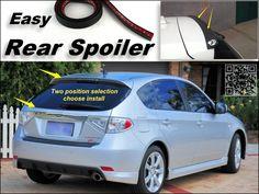 41.00$  Buy now - http://alic5k.shopchina.info/go.php?t=32485405268 - Root / Rear Spoiler For Subaru Impreza WRX STi XV Trunk Splitter / Ducatail Deflector For TG Fans Easy Tuning / Free Modeling  #buyininternet