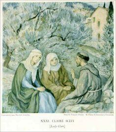 Saint François d'Assise - Page 2 Ste Claire, Saint Damien, St Francis Assisi, Kinfolk, Portraits, San Francisco, Spirituality, Fine Art, Drawings