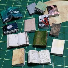 Make miniature books from your old magazines using these simple steps. Find a magazine that is as thick as a miniature book. It ...