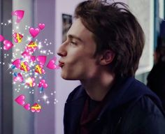 Love Heart Emoji, Friends Theme Song, Godfrey Gao, Ben Barnes, I Adore You, Ryan Gosling, Benedict Cumberbatch, Reaction Pictures, Pretty Boys