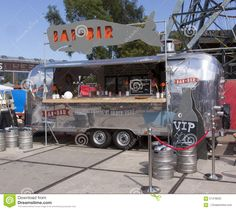 Photo about Amsterdam,Netherlands-july airstream caravan in use as a food truck in use as a bar in Amsterdam. Image of food, trucks, life - 57478033 Food Trucks, Food Truck Party, Monster Truck Cookies, Monster Truck Bed, Food Truck Festival, Concession Trailer, Food Trailer, Food Truck For Sale, Trucks For Sale