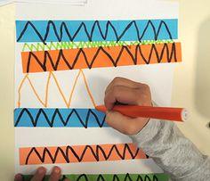 Preschool Writing, Preschool Learning Activities, Art Montessori, Polymer Clay Painting, Handwriting Activities, Motor Skills Activities, Pre Writing, Math For Kids, Process Art