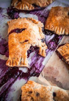 Delicious Blueberry Cinnamon Hand Pies ~ Delicious recipes