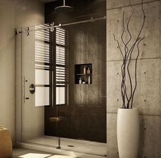 Modern Interior glass sliding shower door hardware