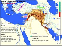 Shalmaneser III - Wikipedia, the free encyclopedia Map Diagram, 12 Tribes Of Israel, Hebrew Bible, Ancient Near East, National Symbols, Kingdom Of Great Britain, Historical Maps, World Heritage Sites, Ancient History