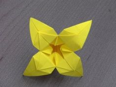 "Tutoriel Origami Flower - ""Alice"" - YouTube"