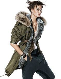 fashion editorials, shows, campaigns & more!: tomboy: karlie kloss by david sims for vogue paris october 2014 Tomboy Fashion, Fur Fashion, Fashion News, Winter Fashion, Fashion 2014, Vogue Paris, David Sims, Emmanuelle Alt, Karlie Kloss