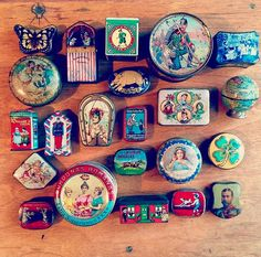 Small Tin Boxes from my Collection