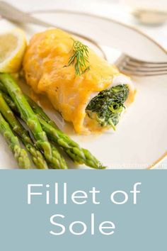 Light and buttery Fillet of Sole stuffed with creamy spinach and baked in a super delicious cheesy sauce. This dish from Preppy Kitchen is super comforting and easy to make. Serve with some roasted asparagus and lemon wedges! #sole #fish #filletofsole Appetizer Recipes, Dinner Recipes, Dessert Recipes, Dinner Ideas, Easy Summer Meals, Summer Recipes, Baking Recipes, Cookie Recipes, Sole Fish