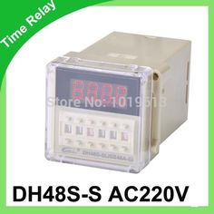 AC Digital timer relay time delay relay 220v DH48S-S relay #Affiliate