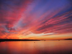 English Bay Sunset | The winter sky lit up like fire over th… | Flickr