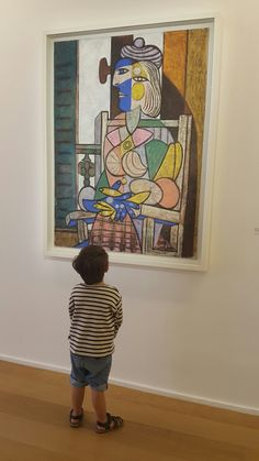 De bas en haut Musée Picasso, novembre 2016