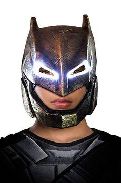 Batman+costumes Products : Batman v Superman: Dawn of Justice - Batman Child Armored Light Up Mask
