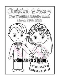 WEDDING COLORING BOOK - Google Search | wedding | Pinterest ...