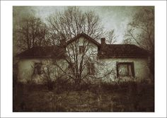 Haunted house  Visit my website, link in my bio www.ateljeeamnelin.fi/AteleeKauppa #posters #julisteet #julisteet netistä #fineart; #art; #fineartposter; #art #photoposter; #print; #prints; #photoprint; #artprint; #artwork #vintage #rustic