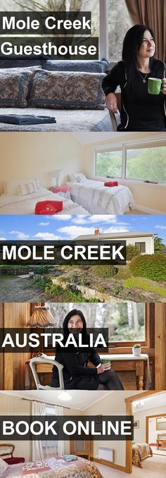Hotel Mole Creek Guesthouse in Mole Creek, Australia. For more information, photos, reviews and best prices please follow the link. #Australia #MoleCreek #travel #vacation #hotel