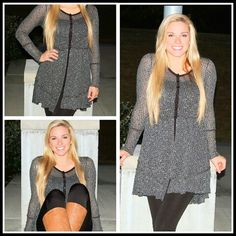 Covered in romance tunic Shethingboutique.com