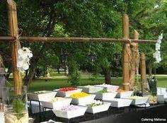 Buffet al aire libre
