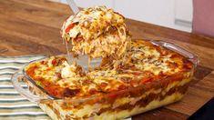 Baked Rice, Milanesa, Rice Balls, Rice Recipes, Chocolate, Ground Beef, Lasagna, Risotto, Cauliflower