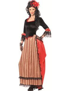 Wild West Woman Costume