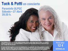 Música / Jazz - 27/04: Tuck & Patti en el Paraninfo de la ULPGC  #musica #jazz #laspalmas #lpgc 27/04: @Tuck & Patti en el Paraninfo de la #ULPGC