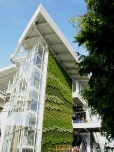 exterior green wall design example